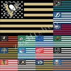 NHL National Hockey League Nation Flag 5X3FT 100D Polyester