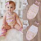 Newborn Toddler Baby Girl Cotton Bodysuit Romper Jumpsuit Outfits Clothes