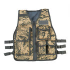 Kids Children Tactical Military Vest Assault Combat Gear Army CS Play HuntingChest Rigs & Tactical Vests - 177891