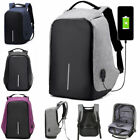 Mode Anti-theft USB Charging Travel Backpack Laptop Notebook School Bag Gift