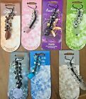 VARIOUS MOBILE PHONE HANGING CRYSTAL CHARMS - Handbags/Keyrings/Clothes/Cases