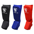 New Shin Instep Pads MMA Foot Leg Guard Muay Thai Kick Boxing Guard Protectors