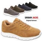 MENS CASUAL SPORTS GYM SUEDE PUMPS SMART RUNNING SHOES TRAINERS 7 8 9 10 11 12