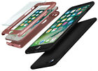 Aquarius Shockproof Case for iPhone Tempered Glass Screen Smartphone Protection