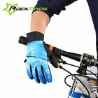 Rockbros Winter Warm & Windproof Full Finger Gloves Touch Screen Sports Gloves