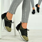 New Womens Ladies Running Gym Trainers Mesh Lace Up Sneakers Shoes Sizes Uk
