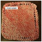New - Hand Knit Dish Cloths - Variety of Colors - FREE SHIPPING