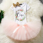 1st Birthday Outfits One Years Baby Dresses Toddler Clothing