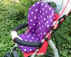 Toddlers Cozy Warm Stroller Seat Pushchair Cushion Air Flow Cotton Mat Dot Tool фото