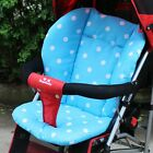 Toddlers Cozy Warm Stroller Seat Pushchair Cushion Air Flow Cotton Mat Dot Tool