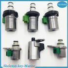 6PCS 4F27E Transmission Complete Solenoid Kit Tested Fit For Ford Mazda Superior