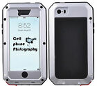 Shockproof Aluminum Armor Metal Case Cover for iPhone X 8 7 6 Samsung S9 S8 Plus