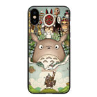 Howl's Moving Castle Totoro Spirited Away Case for iPhone X 8 7 6S 6 Plus 5S 5