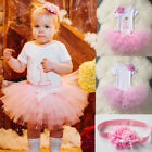 It's My First 1st Birthday Dress Outfits Flower Girl Party C