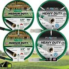 50-100' Heavy Duty Water Hose Lawn Garden Backyard Patio Kink Resistant Flexable