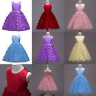 Petal Flower Girl Dresses Kids Evening Gowns For Wedding First Communion Dresses