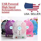 Rechargeable USB Mini Fan for home/ office desk, car, camping