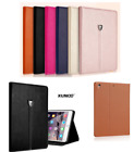 Genuine Soft Leather XY Smart Case Stand Magnetic Cover for Apple iPad Models