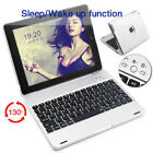 """US For iPad 4 3 2 9.7"""" Bluetooth Keyboard WITH Power Bank Clam Shell Case Cover"""