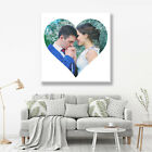 HEART PHOTO CANVAS VALENTINES DAY GIFT IN MANY SIZES, DESIGNS, COLLAGES & GIFTS