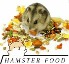 Gourmet Hamster (ALL TYPES) & Mice Food Complete Diet Choose size