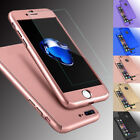 For iPhone 8 6S 7/ 7 Profit Hybrid Heavy Duty Protective Case Cover+Tempered Glass