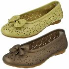 Ladies Lifestyle Casual Leather Shoes Rochdale