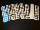 48pk  #2 Colorado Blade Holographic/UV/Glow Die Cuts 8 Styles Fishing Lure Tape