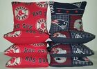 New England Patriots Boston Red Sox Set of 8 Cornhole Bean Bags FREE SHIPPING on Ebay