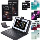 acer 8 tablet case - For Acer Iconia 7 8 10 inch Tablet PU Leather USB with Keyboard Stand Case Cover