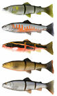 SAVAGE GEAR 3D TROUT LINE THRU LURES - 20cm-8''  93g SLOW SINK - 3 COLOURS AVAIL