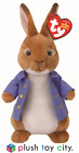 TY BEANIE PETER RABBIT & FRIENDS SOFT PLUSH TOYS - 7