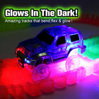 MAGIC TRACKS CAR for 165/220/360/ pcs tracks Glow in the Dark LED LIGHT UP RACE