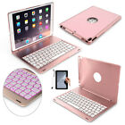 """Aluminum Bluetooth Keyboard Stand Cover Smart Case for iPad 2nd/3/4/5th Gen 9.7"""""""