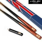 RILEY Single One Piece Snooker Cue Case Set 9.5mm Tip with Extensions 6'' $458.45 USD