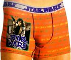 Star Wars: 'Han Solo' A New Hope Men's Polyester-Blend Boxer Beif (Size: M-2XL)