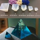 Pyramid Silicone Mould Diy Resin Decorative Mold Craft Jewelry Making Moldrdbk