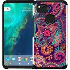 Slim Hybrid Armor Case Dual Layer Protective Phone Cover for Google Pixel 2 XL