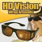 HD Night or Day Vision Wraparound Sunglasses As Seen on TV Fits over Glasses