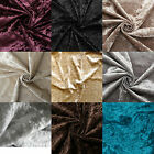 CRUSHED VELVET LUXURY SOFT PLUSH GLITZ UPHOLSTERY CUSHION SOFA UPHOLSTERY FABRIC