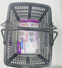 Brand New Small Plastic Shopping Hand Basket Strong and durable handle