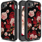 For iPhone 6 7 8 Hybrid TPU Luxury Sparkle Bling Cute Case Full Protective Cover