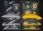 Oakland Raiders Atheletics Set of 8 Cornhole Bean Bags FREE SHIPPING $25.99 USD on eBay