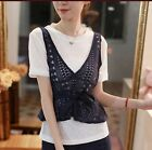 Women Casual Top 2018 Autumn/Winter High Fashion Two Piece Lace Top Belted Top