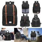 Men Women Vintage Backpack Rucksack School Satchel Shoulder Bag Travel Bags LOT