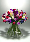 mixed roses - AAA+Wooden Roses Buds Mixed Color 12/24/40/48 pieces FAST FREE SHIPPING FROM USA