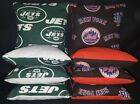 New York Mets Jets Set of 8 Cornhole Bean Bags FREE SHIPPING $25.99 USD on eBay