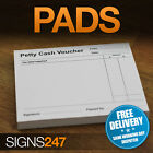 PETTY CASH VOUCHER Book Pad Pre Printed Petty Cash 100 Sheets Petty Cash Slips