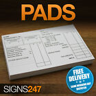 PAYE WAGE SLIPS - PAYE Pads of 100 sheets - Pre-Printed Pay Slips FREE DELIVERY