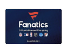 Fanatics Gift Card - $25 $50 or $100 - Email delivery